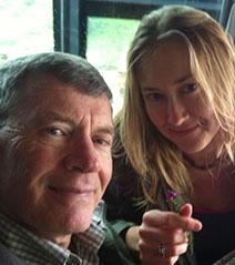 Peter and daughter, Amanda