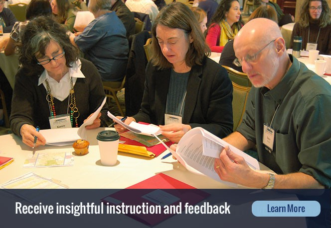 Receive insightful instruction and feedback. Learn more.