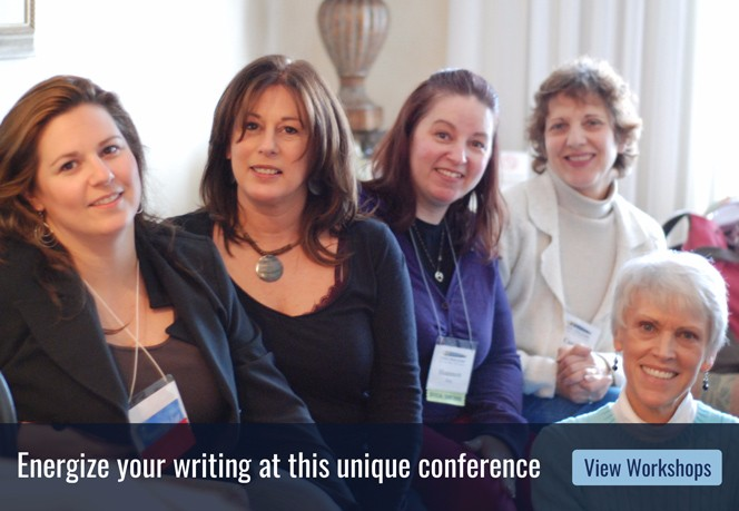 Energize your writing at this unique conference. View workshops.