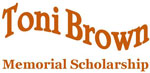 Toni Brown Scholarship logo